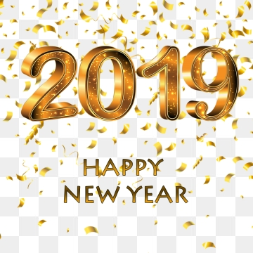 happy new year 2019 png 145039